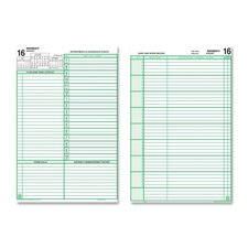 "2-Page-Per-Day Reference Refills, 2PPD, 12-Month, Jan-Dec, 5-1/2""x8-1/2"", 2014"