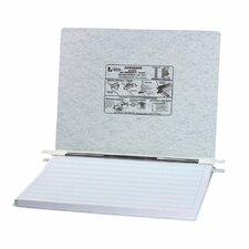 Pressboard Hanging Data Binder, 14-7/8 x 11 Unburst Sheets