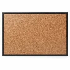 Quartet® Cork Wall Mounted Bulletin Board