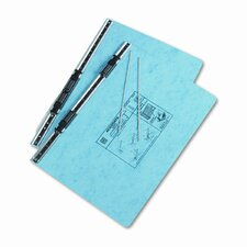 Pressboard Hanging Data Binder, 14-7/8 X 8-1/2