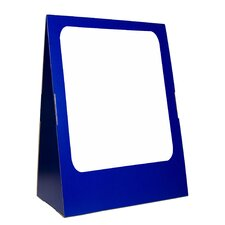 Deluxe Spiral-Bound Flip Chart Stand with Dry Erase Board, 1.5' x 2'