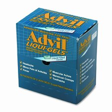 Advil Liqui-Gels Pain Reliever Refill (50 Packs per Box) (Set of 2)