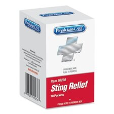 Sting Relief Pad (10 Per Box) (Set of 2)