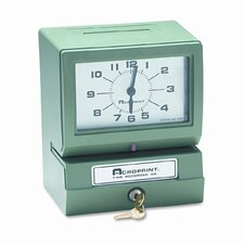 Model 150 Heavy-Duty Analog Automatic Print Time Clock