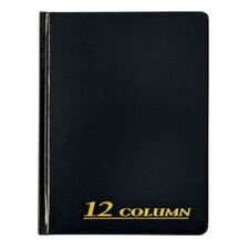 12 Column Cloth Cover Account Book (Set of 36)
