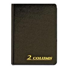 2 Column Cloth Cover Account Book (Set of 36)