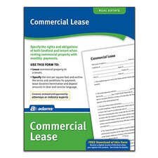 Commercial Lease Forms and Instruction (Set of 1728)