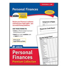Personal Finance Pack Premium Collection Forms and Instruction (Set of 72)