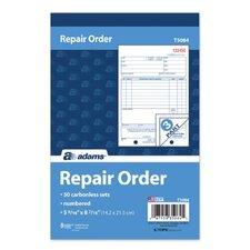 3 Part Repair Order Book (Set of 100)
