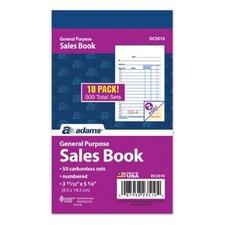 Carbonless General Purpose Sales Book (Set of 1000)