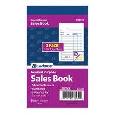 Carbonless General Purpose Sale book (Set of 108)