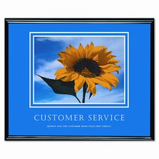 Customer Service Framed Photographic Print