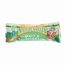 Granola Bars, Oats'n Honey Cereal, 1.5oz Bar, 18 Bars per Box