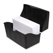 "Index Card Holders, 5""x8"", Black"