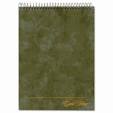 Gold Fibre Wirebound Legal Pad, Letter, 70 Sheets (Set of 2)