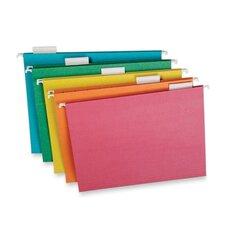 Pendaflex Earthwise Envirotec Hanging File Folders, 1/5 Tab, Letter, 20/Box
