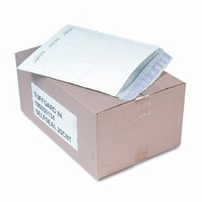 Jiffy TuffGard Self-Seal Cushioned Mailer, Side Seam, #4, White,25/carton