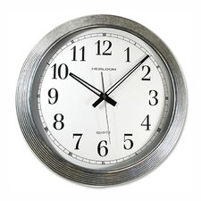 "Galvanized 16"" Wall Clock"