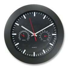"""Humidity Gauge 12"""" Wall clock"""