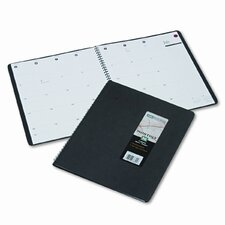 800 Range Monthly Planner, 9 x 11, Black, 2015