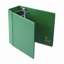 Heavy-Duty Vinyl EZD Reference Binder w/Finger Hole, 5in Cap