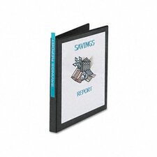 Economy Reference View Binder, 1/2in Capacity (Set of 3)
