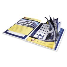"Presentation Books, 12 Pages, 9-1/2""x11-1/2"", Blue (Set of 2)"