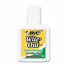 20 Ml Bottle Wite-Out Extra Coverage Correction Fluid (1/Dozen)