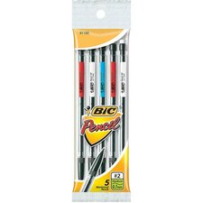 Mechanical Pencil, w/ 3 No. 2 Leads, 0.7mm, 5 per Pack (Set of 3)