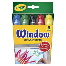 Crayola Washable Window Crayons (Set of 2)