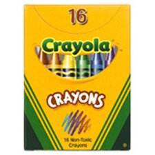 Crayola Regular Size Crayons 16pk (Set of 4)