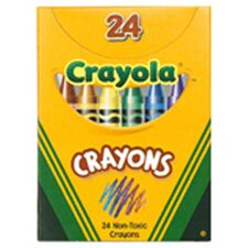 Crayola Regular Size Crayon 24pk (Set of 3)