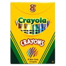 Crayola Regular Size 8 Colors (Set of 6)