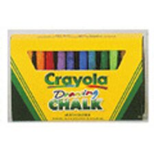 Crayola Colored Drawing Chalk Asst (Set of 3)