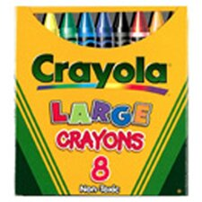 Crayola Large Size Tuck Box 8-pk (Set of 3)