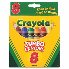 So Big Large Crayons (8/Box) (Set of 2)