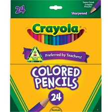 Long Colored Pencil Sets