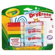 Dry Erase Markers (6 Pack) (Set of 2)