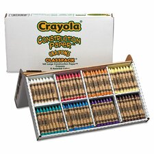 Classpack Wax Crayons (Set of 160)