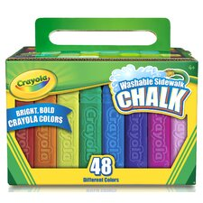 Sidewalk Chalk (48 Count) (Set of 2)