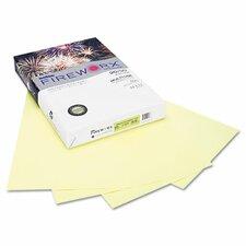 Fireworx Colored Paper, 20 lbs., 11 x 17, Bottle Rocket Blue, 500/Ream