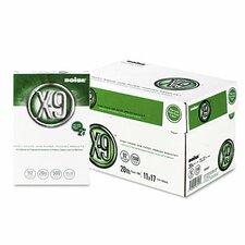 X-9 Copy Paper, 92 Brightness, 20 lb, 11 X 17, 2500 Sheets/Carton