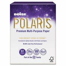 Polaris Copy Paper, 8 1/2 X 11, 5,000 Sheets/Carton, 24 Lb