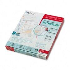 Standard Weight Polypropylene Sheet Protector (100/Box)