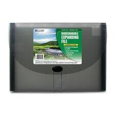 13-Pocket Biodegradable Expanding File, Letter