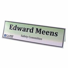 Name Tents with Holders (Set of 50)