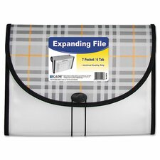 7 Pocket Expanding File
