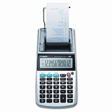 P1-Dhv One-Color 12-Digit Printing Calculator with 12-Digit Lcd)