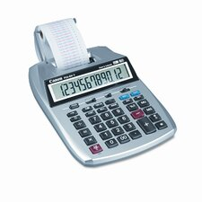 P23-Dhv 12-Digit Two-Color Printing Calculator with 12-Digit Lcd)