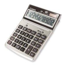 """12-Digit Desktop Calculator, 7-3/4""""x5-1/4""""x1-1/8"""", Beige"""